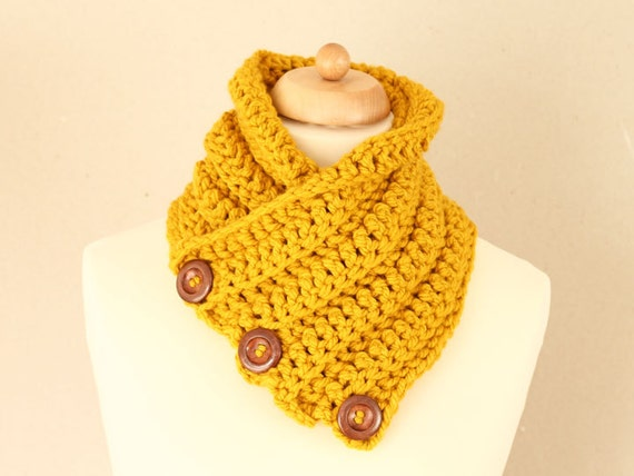 ... Warmer, Women's Ribbed Scarf, Cozy Winter Accessories - mustard yellow