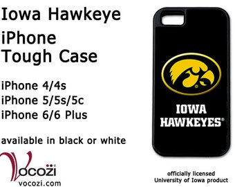 Iowa Hawkeye iPhone 4 iPhone 5 iPhone 6 Case - Iowa Tigerhawk - design-3