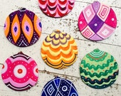 3 Handmade  Christmas decorations for your Christmas tree! Colorful and original , choose 3 pieces  for your home!