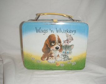 1978 Wags and Whisker lunchbox and thermos
