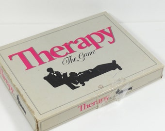 Therapy - the Game - 1986 Board Game - Gambit Games