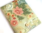 14 to 15.6 Laptop Fabric Case  MacBook Pro 15  Padded Sleeve  SUPERIOR Shock Absorbent Foam Padding  Designer Fabric ANDREA  Handmade