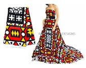 Wholesale Tribal Print Fabric/ Hitarget African fabric/ African fabric Shop/ African Clothing/Ankara Wax Print / 6 yards  WP 396