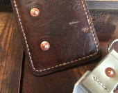 Handmade Reclaimed WWII Swiss Ammo Pouch Front Pocket Wallet