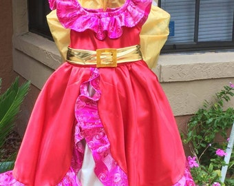 Elena of Avalor Dress Costume for Girls