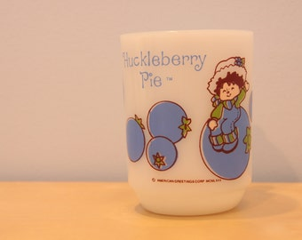 Huckleberry Pie (Strawberry Shortcake) Vintage Fire King Mug
