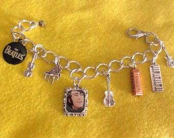 John Lennon charm bracelet