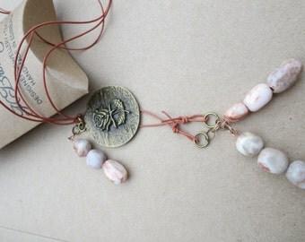 Jasper Pendant Latiat,Gemstone Pendant Lariat, Gemstone Necklace, Edinburgh Jewellery Designer, Gemstone to Glamour Jewellery, U.K.