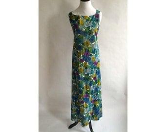 Vintage reversible wrap dress