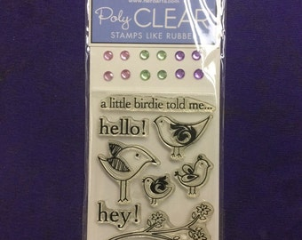 "Hero Arts ""Hello Birdie"" small stamp set"