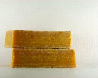 Sandalwood Turmeric Soap, Natural Skin Care