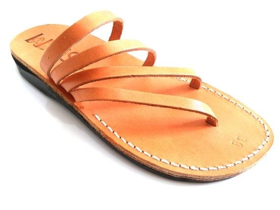 Excellent Gladiator Jesus Sandals Leather Sandal For Women .gladiator