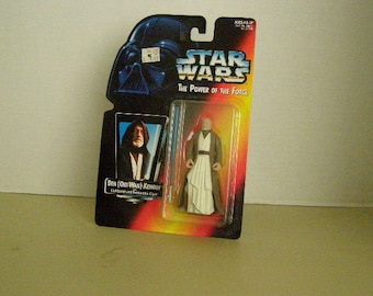 Star Wars Power of the Force 2 Ben (Obi-Wan) Kenobi 3 3/4 Inch Figure New In Package