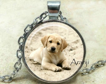 Golden retriever pendant, golden retriever necklace, puppy pendant, dog pendant, dog necklace, golden retriever jewelry, Pendant #AN124P