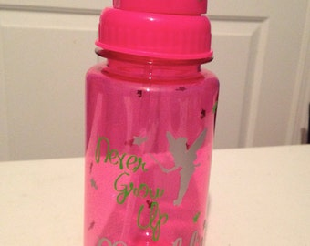 Personalized Tinkerbell Water Bottle