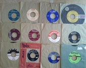 Vintage Vinyl Records, Rock, R&B various artists, First Pressings.  45 RPM from 50s and 60s. Choose one or all