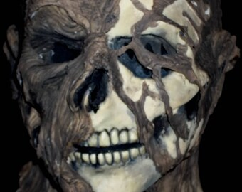 Custom Latex Zombie / Deadite / Ghoul Mask - Gothic Horror - Adult Size - Very Creepy!! - OOAK
