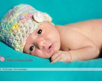 Crochet Pattern Basic Bulky Beanie - PDF - Instant Digital Download (Newborn - Adult)