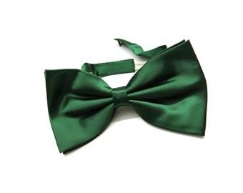 70s satin bow tie - vintage bow tie - germany fashion