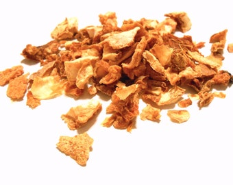 GRAPEFRUIT PEEL - Dried Pieces - Ethically Wildharvested - Aromatic and Useful - Tea, Potpourri, Incense