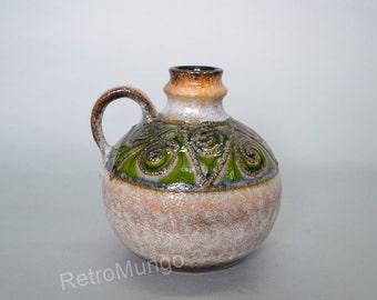 Retro vintage  East German vase by Strehla