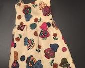 Blythe holly hobby print dress