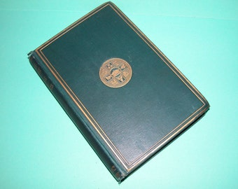 Antique (Poetry Book) Golden Treasury of Songs and Lyrics, 1887 Arranged Francis Turner Palgrave