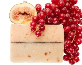 Cranberry Soap Log, Soap Loaf FREE SHIPPING, Natural Soap, Wholesale Soap, Bulk Soap Bulk, Soap Loaves, Cold Process Soap, Vegan Soap Sample