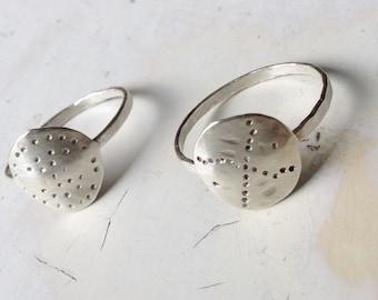 Crossroads • Sterling Silver Ring • US Size 7 & 3/4 | Metalwork | Modern Silver Jewelry | boho Sterling Rings | minimalist | boho rings