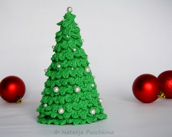 Easy crochet pattern vor Christmas Tree  - Office christmas tree, DIY, do-it-yuorself,