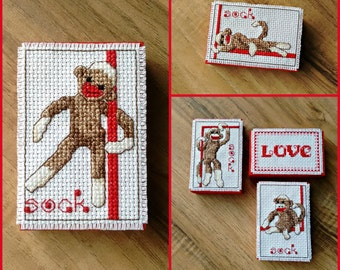 Rockford Red Heel Monkey conversation woodblock