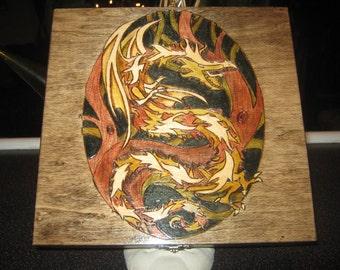 Dragon Cigar Box
