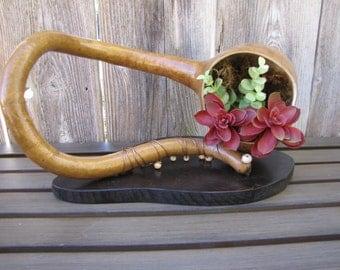 Mounted Gourd Planter