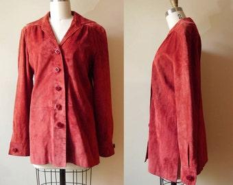 1970s suede Marakesh coat // Holt Renfrew // vintage leather jacket