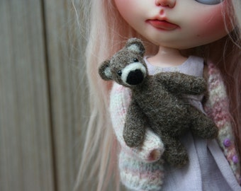 OOAK Needle felted bear...such a cutie
