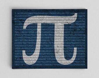 Math Dorm Decor Pi Print to 1000 Digits Physics Science Wall Decor Math Teacher Gift Nerdy Mathematics Poster Pi to 1000 Digits Math Poster