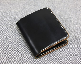 Horween Shell Cordovan Black Wallet