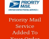 Add Priority Mail Service To Your Order