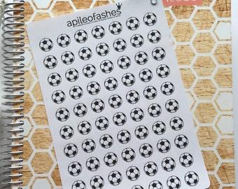 Soccer Planner Stickers Soccer