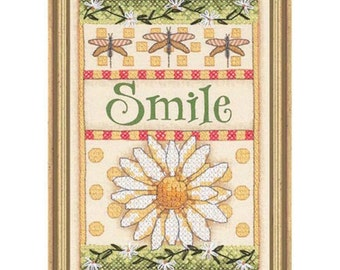 Cross Stitch Kit - Smile Daisy