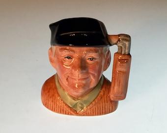 Royal Doulton Character Jug The Golfer
