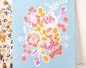 "Sweet as Honey ""Orchard Blossom Spring"" Print"