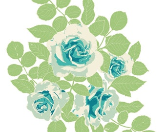 "Cultivate ""Pruning Roses"" Print"