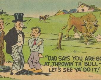 1949 Vintage Political Postcard