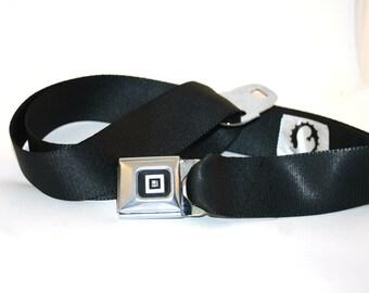 Black GM Buckle-Up Belt