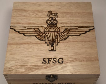 Personalised Wooden Medal Box