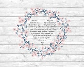Love Poem for Husband Gift for Husband Anniversary Gift Poem Husband Birthday Gift for Husband From Wife Gift Bride to Groom 8 x 10 Print