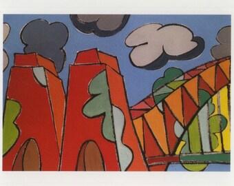 Postcard: City I (2015) (Sydney Harbour Bridge)