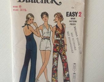 Vintage, unused Butterick Pattern 6231 size 8