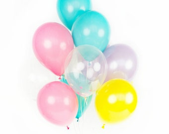 Confetti Balloon Set - Pineapple Punch